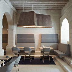 Fontevraud Hotel in the Loire Valley designed by Patrick Jouin