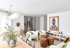 〚 White apartment in Madrid with interesting decor and beautiful glass partition (90 sqm) 〛 ◾ Photos ◾ Ideas ◾ Design #livingroom #homedecor #interiordesign #decor #cozy #living #ideas #inspiration #tips #style #space White Apartment, Glass Partition, Modern Architecture House, Madrid, Beautiful Interiors, Living Room, Cozy Living, Interior Design, Inspiration