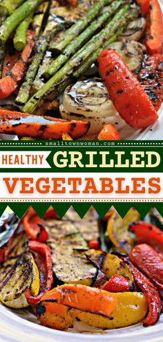 Here comes the best grilling recipe for summer! These Grilled Vegetables start with bell peppers, zucchini, yellow squash, onions, and asparagus. Grilled and drizzled with a balsamic sauce. Add this to your summer bbq party ideas! Grilled Vegetable Salads, Grilled Asparagus, Grilled Vegetables, Vegetable Recipes, Vegetarian Recipes, Veggies, Healthy Grilling, Grilling Recipes, Grilling Ideas