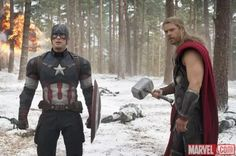 Cap and Thor Get Cold