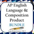 AP English Language and Composition Bunder:  This ever-growing bundle is for the first-time instructor or seasoned teacher who needs to shake things up a bit. It contains 304 pages of AP Engli...