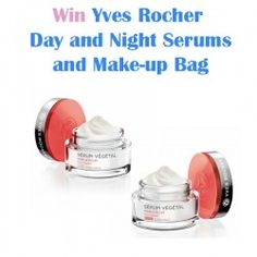 Win Yves Rocher Day and Night Serums and Make-up Bag ^_^ http://www.pintalabios.info/en/fashion-giveaways/view/en/3322 #International #Cosmetic #bbloggers #Giweaway