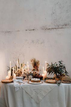 dessert table - photo by Monica Leggio http://ruffledblog.com/italian-island-elopement-inspiration