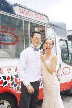 Hong Kong engagement photography 富豪雪糕 電糕車Mobile Softee ice-cream ice-cream van ice-cream truck https://www.facebook.com/airsphotography/
