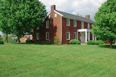 Forsythe- Shewmaker House in Mercer County, Kentucky.