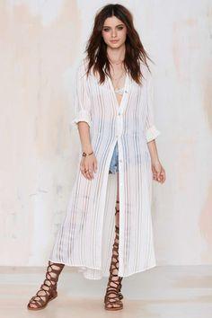 Vintage Kenzo Islandia Sheer Dress