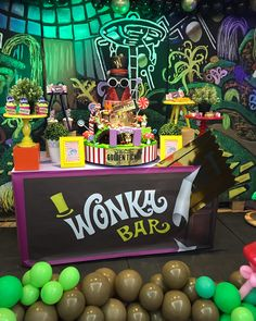 Willy Wonka Halloween, Adult Halloween Party, Halloween 2020, Charlie Chocolate Factory, Wonka Chocolate Factory, Willy Wanka, Chocolate Party, Golden Birthday, Trunk Or Treat
