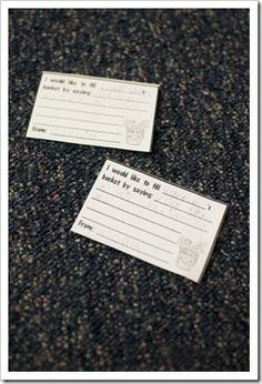 bucket filler slips to write on when someone filled your bucket! good for kiddos to be on the lookout for others being kind! LOVE the bucket book and these cute slips!