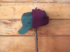 craft blogger's wooly hat