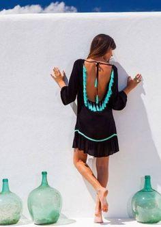finest selection d538e aacba Vestido de verão Ibiza