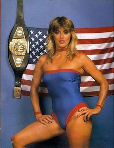 80s and 90s pro wrestler Misty Blue Simmes http://womensprowrestling.blogspot.com/2007/09/misty-blue-simmes.html