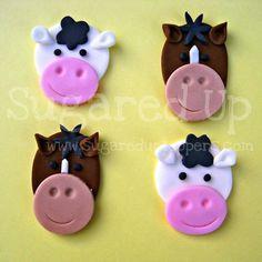 Farm Party // Barnyard Cupcakes // Farm Cupcakes