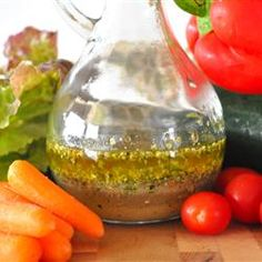 Basic Italian Salad Dressing  Combine italian dressing and apricot preserves to marinate lamb