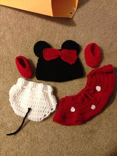 minnie mouse costume for New born.