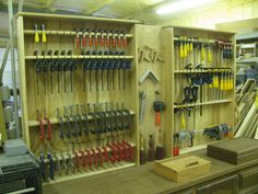 Clamp Rack - by Kent Shepherd @ LumberJocks.com ~ woodworking community