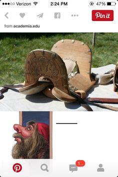 Viking saddle