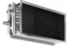 Водяной нагреватель для прямоугольных каналов WHR 300×150-3