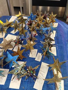 New Brighton Library. Saturday 17 June File reference: From the collection of Christchurch City Libraries. Space Preschool, Preschool Ideas, City Library, New Brighton, Little Star, Teaching Kids, Origami, Gift Wrapping, Table Decorations