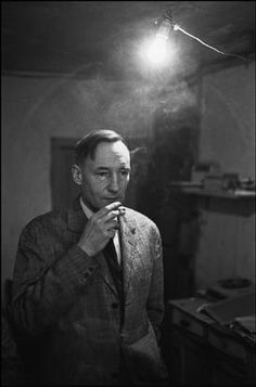 FRANCE. 1970. Paris. William BURROUGHS-Nicolas Tikhomiroff