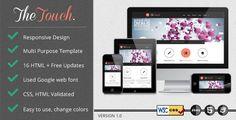 TheTouch | Multi-Purpose Site Template