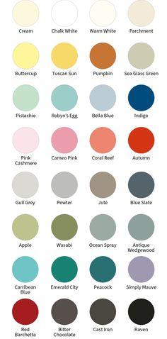 The Full FAT Palette. The Fat Paint Company chalk paint colours.