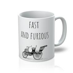 """Fast And Furious - Vintage Car"" Mug"