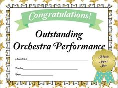 End of the Year Awards Traditional Style {Music Class} {Editable} Education For All, Music Education, Music Class, Music Mix, Teacher Boards, The Power Of Music, Reading Music, Music And Movement, Elementary Music