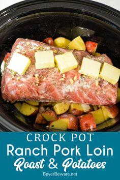 Crock Pot Food, Crockpot Dishes, Pork Dishes, Crock Pot Dinners, Crock Pot Potatoes, Good Crock Pot Recipes, Crock Pot Roast, Healthy Crock Pot Meals, Beef Crock Pots