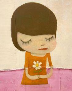 Pretty Art, Cute Art, Aya Takano, Yoshitomo Nara, Psychedelic Drawings, Funky Art, Doodle Designs, Japanese Artists, Art Background