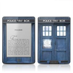 A Tardis kindle cover.  Want!!!!