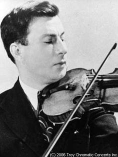 Nathan Milstein, 1936-1937.