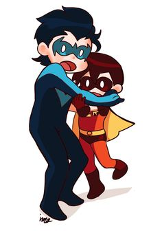 chicks dig the cape Baby Robin, Robin Dc, Batman Robin, Superhero Family, Batman Family, Bat Boys, Dc Comics Characters, Tim Drake, Red Hood