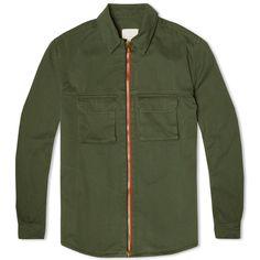 Band of Outsiders Americana Zip Shirt Jacket