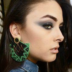 tribal earrings   Melodyehsani