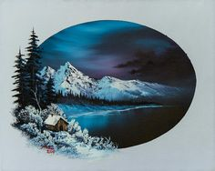 Jack Frost Moon Painting by Chris Steele