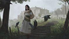 Liliana, Heretical Healer - MtG Art