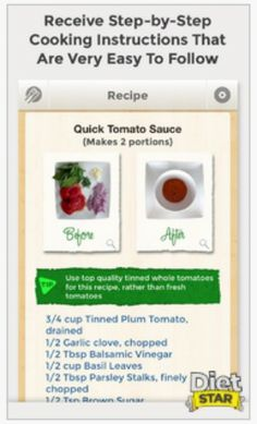 Diet Star App allows you to customize #healthy weight loss #recipes! Annnnnd it's #FREE!!!    Download now => https://itunes.apple.com/us/app/diet-star-custom-weight-loss/id689173462?ls=1&mt=8  #weightloss #getfit #motivation #diet #health #fitness #weight #calories #app #mobileapp