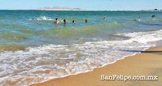Summer days on the Beach in San Felipe, Baja California, Mexico!