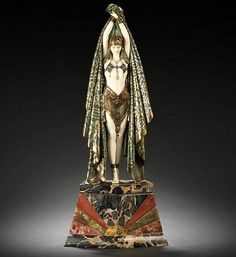 'Largest and most impressive bronze and ivory figure group' is for sale