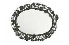 Mirror by Lisbeth Dahl Copenhagen Spring/Summer 13. #LisbethDahlCph #Mirror #Black #Flowers