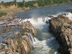 Tourist locations in Jabalpur City:  Bhedaghat: Marble Rocks are always special things to enjoy in Jabalpur, but a tourist has to reach Bhedaghat for rocks. Approximately, 25 km river flow direction is full of marbles and beside the road permits the guests to enjoy the view of white rocks with no difficulties. Sunlight shine on white marble peaks is amazing experience. The spotted shadow on river water is dissimilar thing as well.