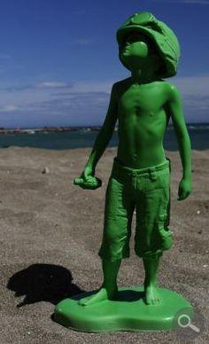 Boy Soldier Green