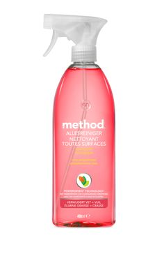 allesreiniger - Method Netherlands Method Homes, Spray Bottle, Interior Inspiration, Cleaning Supplies, Aqua, House, Fat, Fragrance, Water