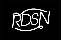 roodshine logo typography