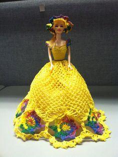 crochet barbie clothes - Google Search