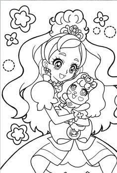princess precure   cure flora&puff