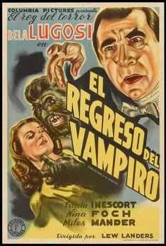 Post de filme B dos anos 1940