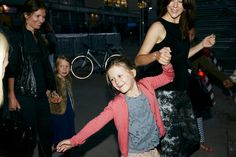 yoursweetremedy:  Princess Isabella with mom Crown Princess Mary at a a One Direction concert, Copenhagen, June 16, 2014