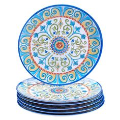 Certified International Tuscany Painted 11-inch Dinner Plates (Set of 6) - Overstock™ Shopping - Great Deals on Certified International Plates
