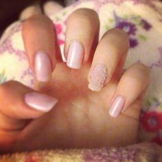 Sheer pink plus hearts | Nail, nails, nails! | Pinterest | Nail ...
